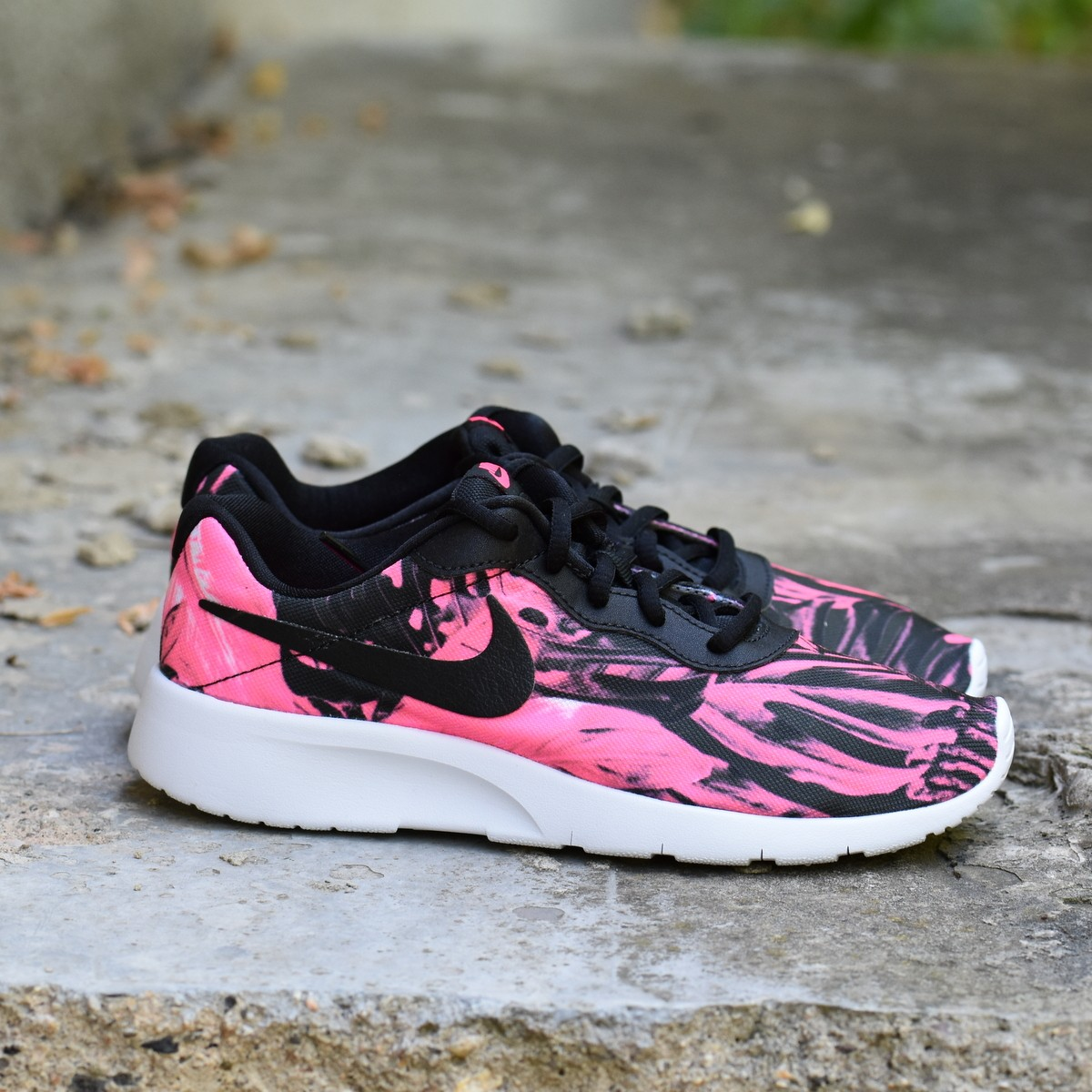 Nike TANJUN PRINT (GS) Dětské boty EU 38 833668-002 67952175c0